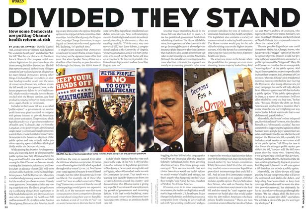 Article Preview: DIVIDED THEY STAND, NOV. 23rd 2009 2009 | Maclean's