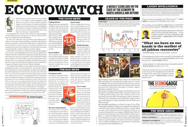 Article Preview: OVERDRAWN, NOV. 23rd 2009 2009 | Maclean's