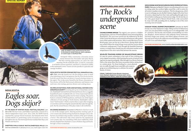 Article Preview: The Rock's underground scene, NOV. 23rd 2009 2009 | Maclean's