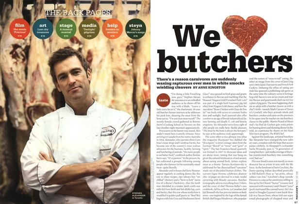 Article Preview: We butchers, NOV. 23rd 2009 2009 | Maclean's