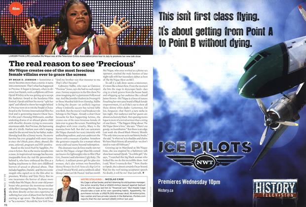 Article Preview: The real reason to see 'Precious', NOV. 23rd 2009 2009 | Maclean's