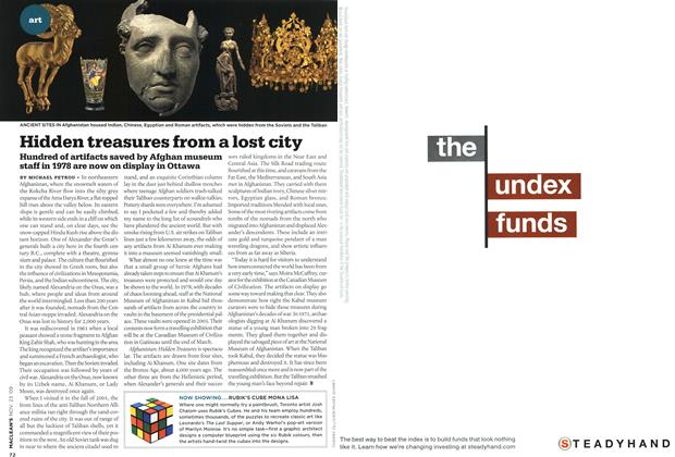 Article Preview: Hidden treasures from a lost city, NOV. 23rd 2009 2009 | Maclean's
