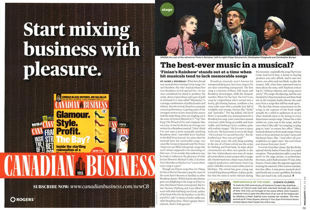 Article Preview: The best-ever music in a musical?, NOV. 23rd 2009 2009 | Maclean's