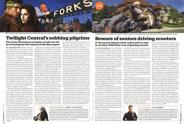 Article Preview: Twilight Central's sobbing pilgrims, NOV. 23rd 2009 2009 | Maclean's