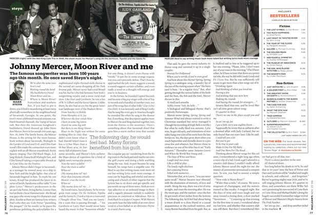 Article Preview: Johnny Mercer, Moon River and me, NOV. 23rd 2009 2009 | Maclean's
