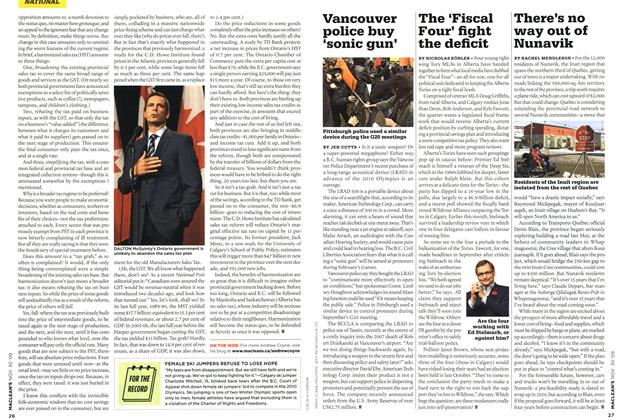 Article Preview: There's no way out of Nunavik, NOV. 30th 2009 2009 | Maclean's