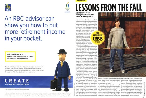 Article Preview: LESSONS FROM THE FALL, NOV. 30th 2009 2009 | Maclean's