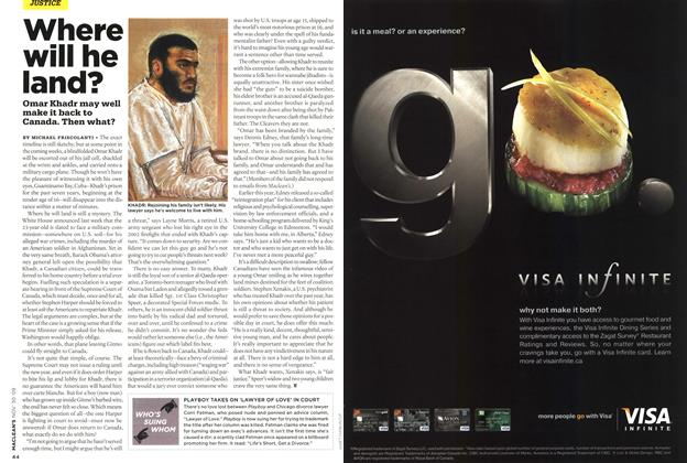 Article Preview: Where will he land?, NOV. 30th 2009 2009 | Maclean's