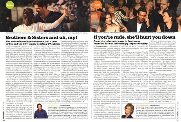 Article Preview: If you're rude, she'll hunt you down, NOV. 30th 2009 2009 | Maclean's