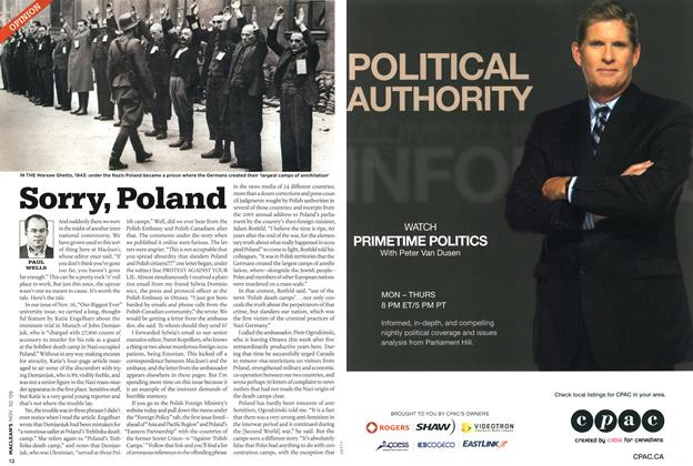 Article Preview: Sorry, Poland, NOV. 30th 2009 2009 | Maclean's