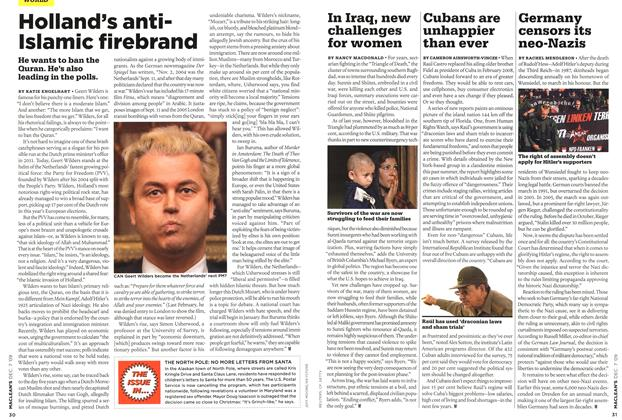 Article Preview: Germany censors its neo-Nazis, DEC. 7th 2009 2009 | Maclean's