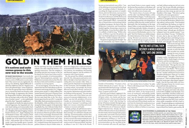 Article Preview: GOLD IN THEM HILLS, DEC. 7th 2009 2009 | Maclean's