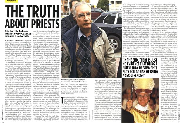 Article Preview: THE TRUTH ABOUT PRIESTS, DEC. 7th 2009 2009 | Maclean's