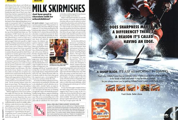 Article Preview: MILK SKIRMISHES, DEC. 7th 2009 2009 | Maclean's