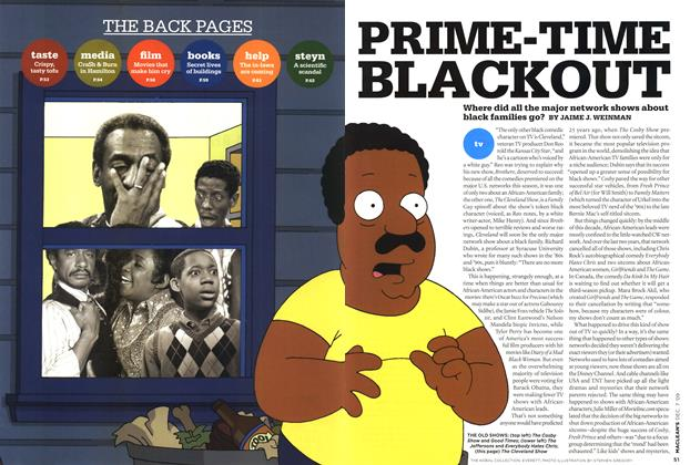 Article Preview: PRIME-TIME BLACKOUT, DEC. 7th 2009 2009 | Maclean's