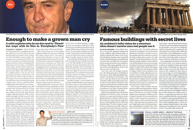 Article Preview: Enough to make a grown man cry, DEC. 7th 2009 2009 | Maclean's