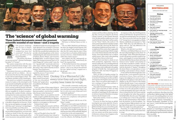 Article Preview: The 'science' of global warming, DEC. 7th 2009 2009 | Maclean's