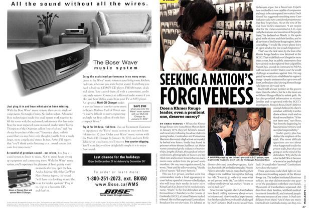 Article Preview: SEEKING A NATION'S FORGIVENESS, DEC. 14th 2009 2009 | Maclean's