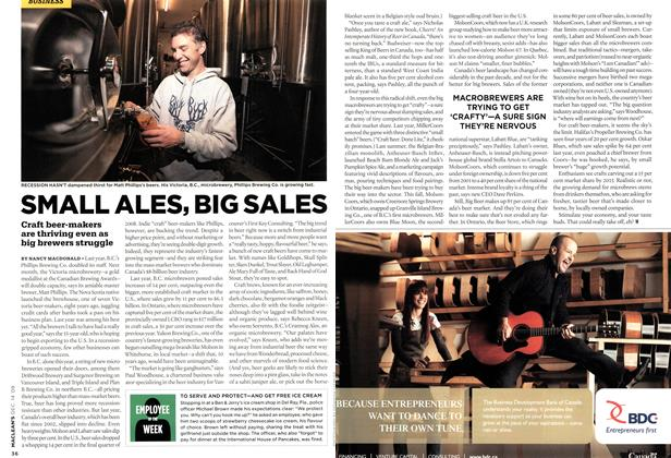 Article Preview: SMALL ALES, BIG SALES, DEC. 14th 2009 2009 | Maclean's