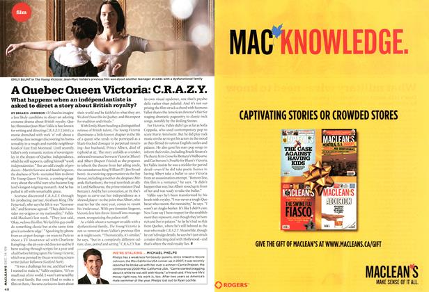 Article Preview: A Quebec Queen Victoria: C.R.A.Z.Y., DEC. 14th 2009 2009 | Maclean's