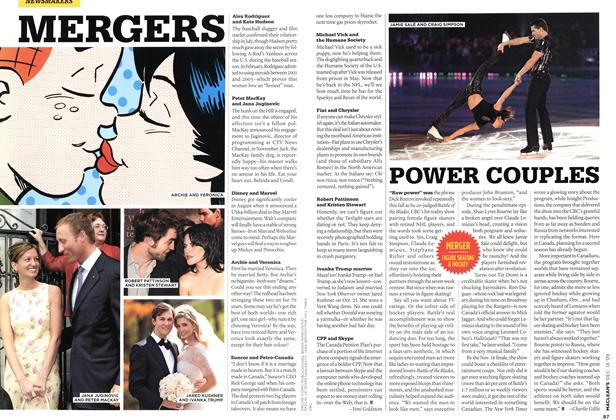 Article Preview: POWER COUPLES, DEC. 14th 2009 2009 | Maclean's