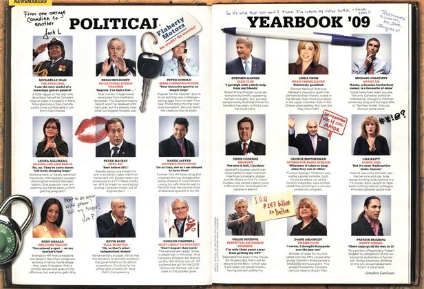 Article Preview: POLITICAL YEARBOOK '09, DEC. 14th 2009 2009 | Maclean's