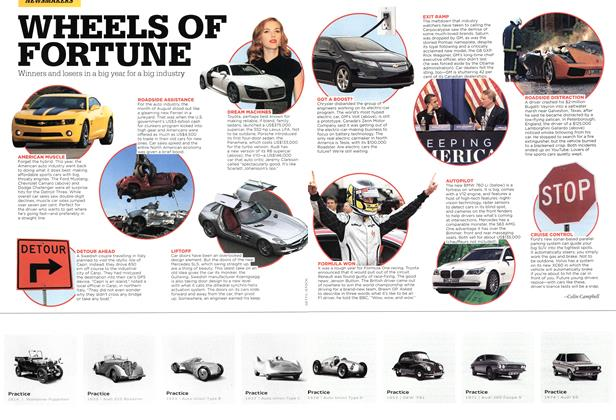 Article Preview: WHEELS OF FORTUNE, DEC. 14th 2009 2009 | Maclean's