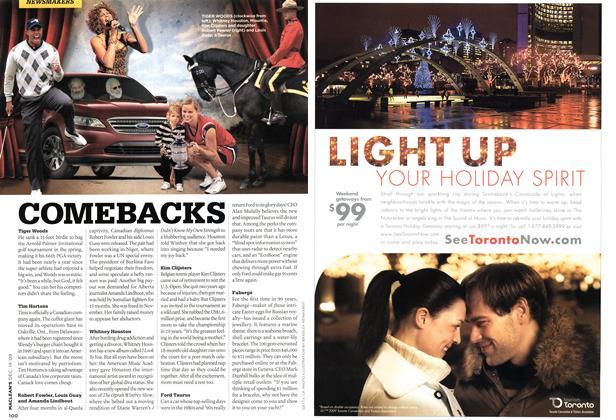 Article Preview: COMEBACKS, DEC. 14th 2009 2009 | Maclean's