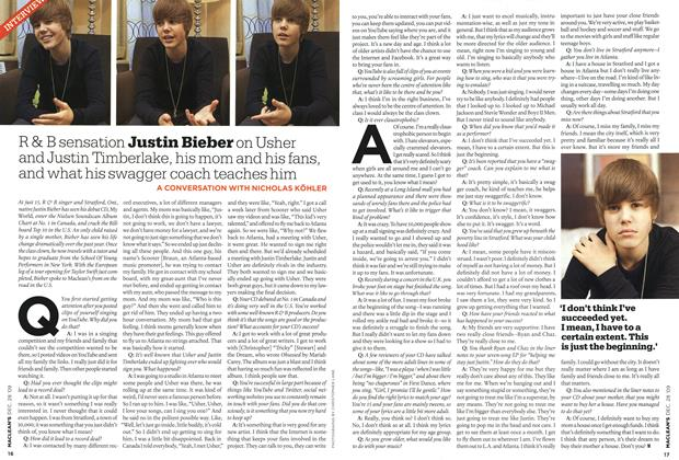 Article Preview: INTERVIEW, DEC. 28th 2009 2009 | Maclean's