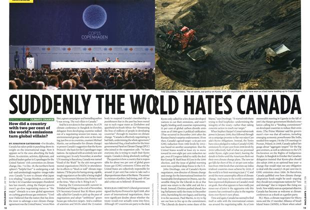 Article Preview: SUDDENLY THE WORLD HATES CANADA, DEC. 28th 2009 2009 | Maclean's