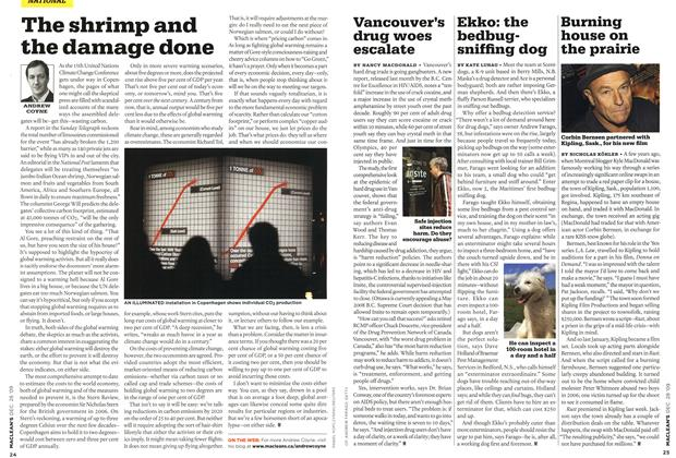 Article Preview: The shrimp and the damage done, DEC. 28th 2009 2009 | Maclean's
