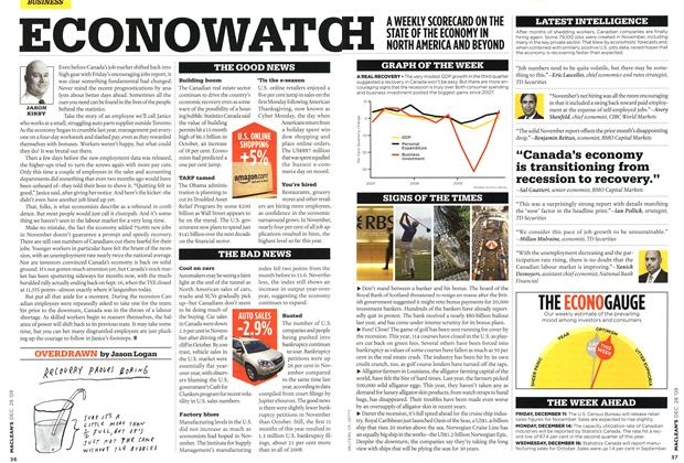 Article Preview: ECONOWATCH, DEC. 28th 2009 2009 | Maclean's