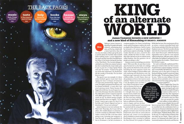 Article Preview: KING of an alternate WORLD, DEC. 28th 2009 2009 | Maclean's
