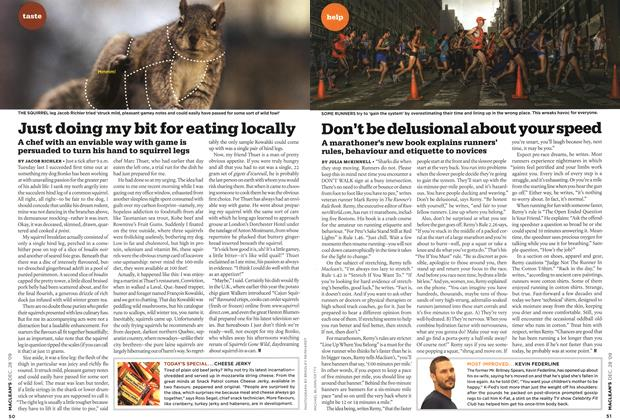 Article Preview: Just doing my bit for eating locally, DEC. 28th 2009 2009 | Maclean's