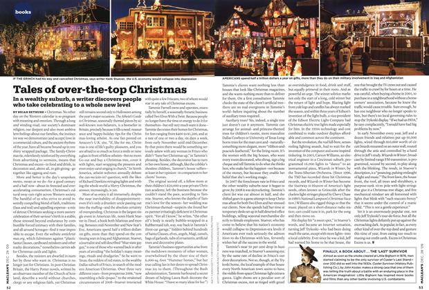 Article Preview: Tales of over-the-top Christmas, DEC. 28th 2009 2009 | Maclean's