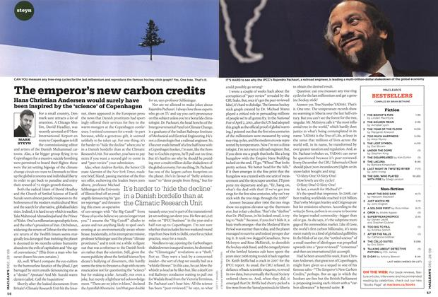 Article Preview: The emperor's new carbon credits, DEC. 28th 2009 2009 | Maclean's