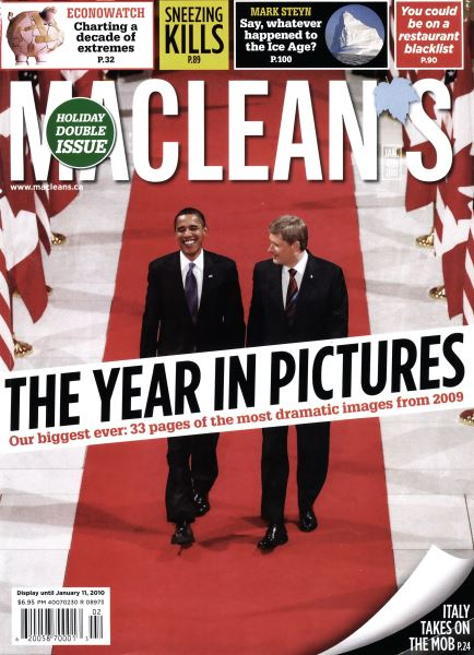 Issue: - JAN. 4th 2010 | Maclean's