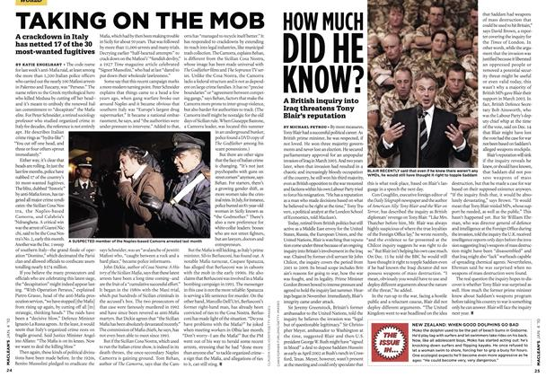 Article Preview: HOW MUCH DID HE KNOW?, JAN. 4th 2010 | Maclean's