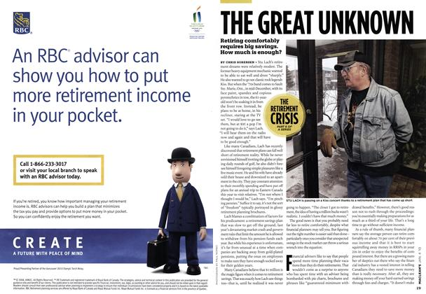 Article Preview: THE GREAT UNKNOWN, JAN. 4th 2010 | Maclean's