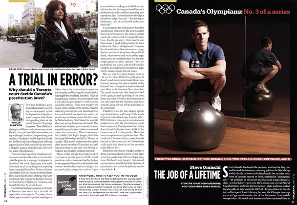 Article Preview: Steve Omischl THE JOB OF A LIFETIME, JAN. 4th 2010 | Maclean's