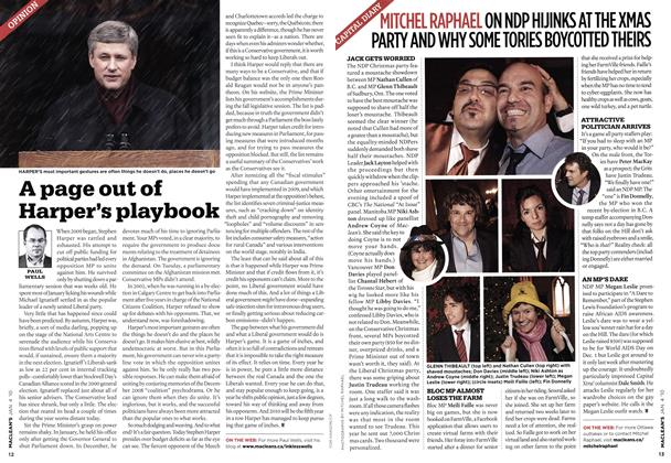 Article Preview: CAPITAL DIARY, JAN. 4th 2010 | Maclean's