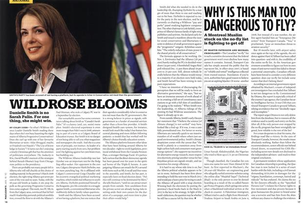 Article Preview: WHY IS THIS MAN TOO DANGEROUS TO FLY?, JAN. 18th 2010 2010 | Maclean's