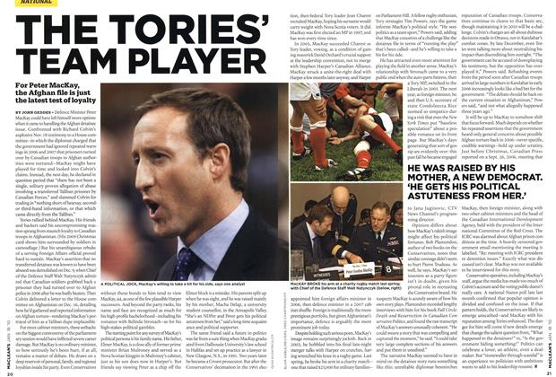 Article Preview: THE TORIES' TEAM PLAYER, JAN. 18th 2010 | Maclean's