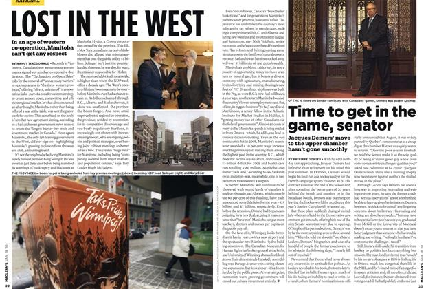 Article Preview: LOST IN THE WEST, JAN. 18th 2010 | Maclean's