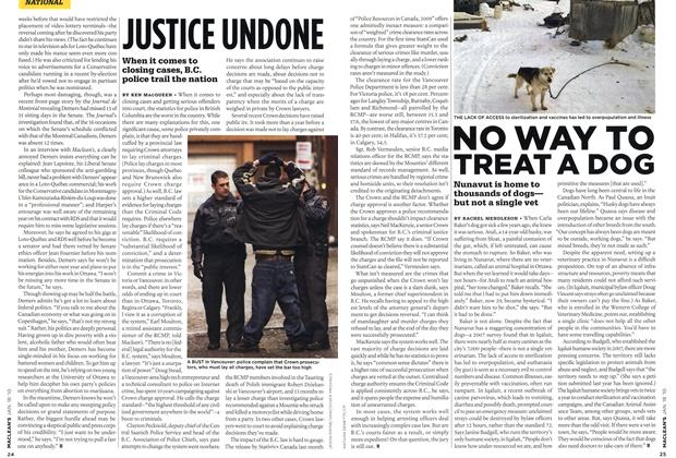 Article Preview: NO WAY TO TREAT A DOG, JAN. 18th 2010 | Maclean's