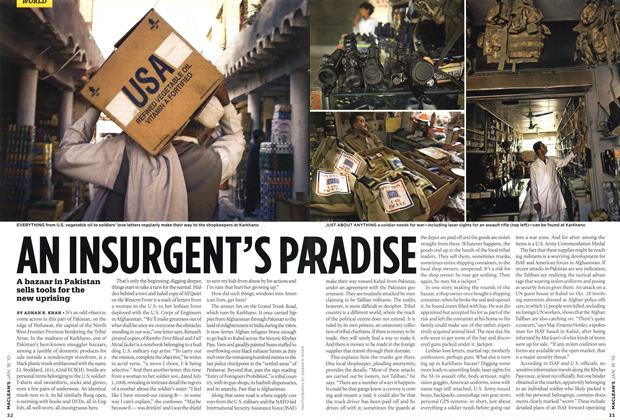 Article Preview: AN INSURGENT'S PARADISE, JAN. 18th 2010 | Maclean's