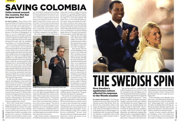 Article Preview: THE SWEDISH SPIN, JAN. 18th 2010 | Maclean's