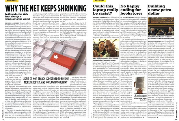 Article Preview: WHY THE NET KEEPS SHRINKING, JAN. 18th 2010 | Maclean's