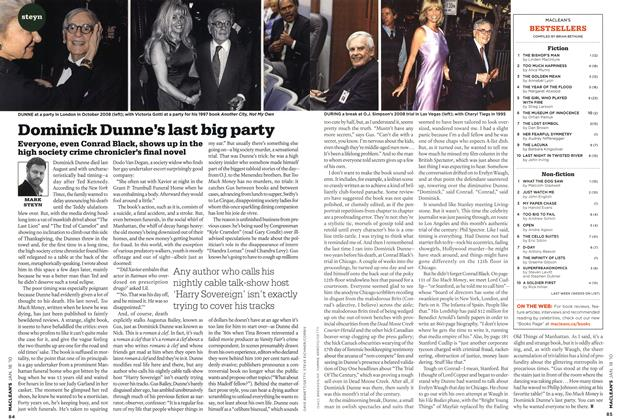 Article Preview: Dominick Dunne's last big party, JAN. 18th 2010 | Maclean's