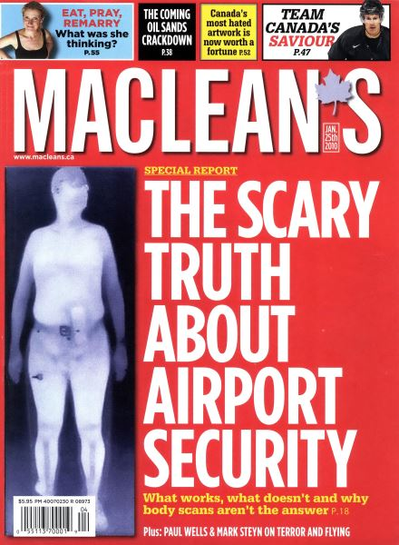Issue: - JAN. 25th 2010 | Maclean's